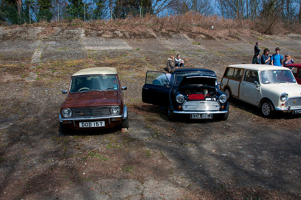 Our two club Minis